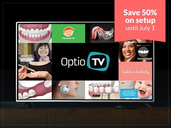 Optio TV - Dental Waiting Room TV